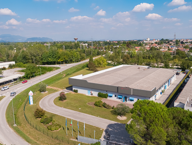 Manufacturing plant in Spilimbergo, Italy